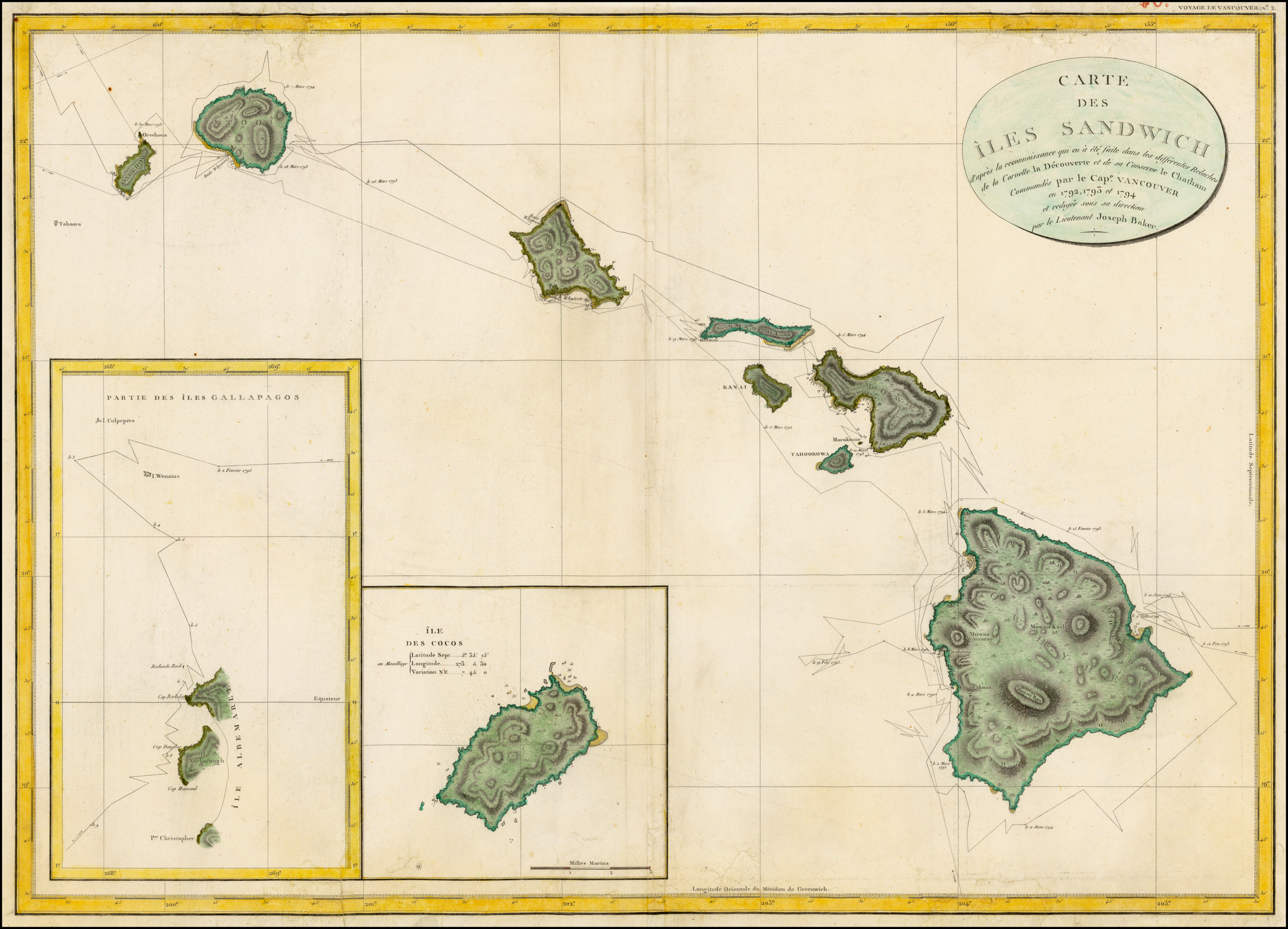 From Maps to Metaphors: The Pacific World of George Vancouver