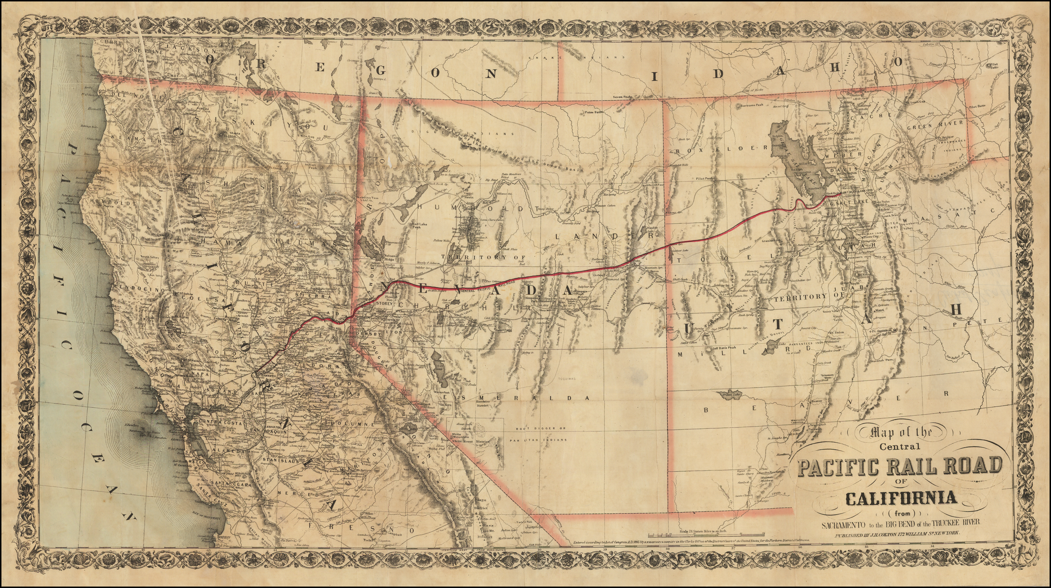 Map of the Central Pacific Rail Road of California (from ... Central Pacific Railroad Map on central pacific leviathan, chesapeake and ohio railway map, los angeles and salt lake railroad, union pacific colorado route map, union pacific railroad, chicago rapid transit map, northern pacific railway, western railroads map, modoc northern railroad, denver and rio grande western railroad, uintah railway, central pacific jupiter, comstock lode, canadian national railway map, leland stanford, maine central railroad map, sego, utah, michigan central railroad map, jay gould, northern pacific railway map, central pacific train, union pacific system map, northern pacific route map, jersey central railroad map, new york central railroad map, western pacific railroad, golden spike, penn central railroad map, central pacific coast costa rica map, texas central railway map, central illinois map, collis p. huntington, oregon short line railroad, union pacific california map, atchison, topeka and santa fe railway, great western railway of colorado, great northern railway, southern pacific railroad, first transcontinental railroad,