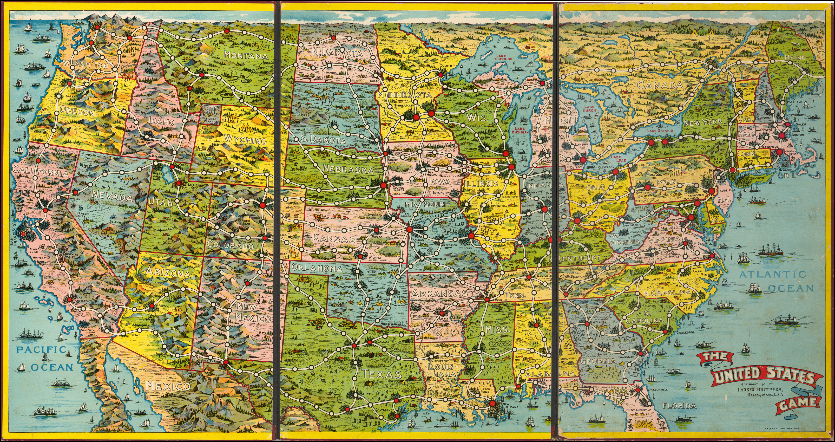 Game Board Map] The United States Game - Barry Lawrence ... on 50 states matching game, blank united states map game, map united states government, usa map game, world map game, us states map game, map of states for us teachers, space game, united states and capitals game,