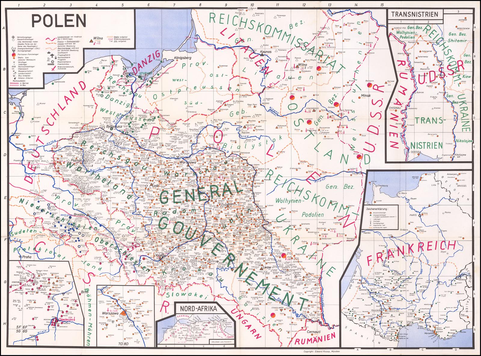 Mapping the Holocaust) Polen | Transnistrien | [Frankreich ...