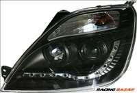 fényszóró nappali menetfény kivitelben- Ford Fiesta VI 4/02-8/08 fekete + Motor