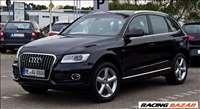 Audi Q5 első lökhárító elem, jobb első sárvédő, xenon fényszóró, S line hátsó lökös, stb...