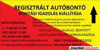 Gépjármű leadás , felvásárlás , autófelvásárlás Pest megye ÉVVÉGI  AKCIÓ