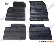 Nissan Micra MK13 Frogum 0451 fekete gumiszőnyeg szett