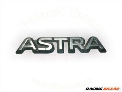 Opel Astra F 1991-2002 - felirat, hátsó, ASTRA, kivéve gsi
