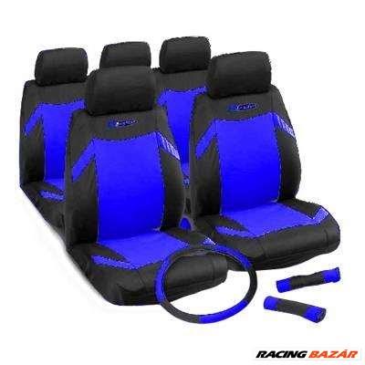 Üléshuzat univerzális  kék-fekete ajándékkal Indy 17002
