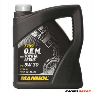Motorolaj 5W-30 O.E.M. Toyota, Lexus ACEA C2/C3, ACEA A5/B5, API SM/CF Mannol 7709 4 liter