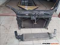 Mazda 3 BK 1.6 diesel homlokfal, hűtőszett, vízhűtő,klímahűtő, ventilátor