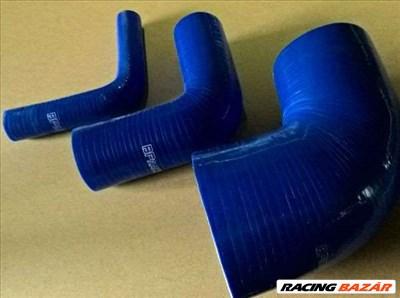90 fokos szűkítő 127/127 mm hosszú  83  63 mm (kék)