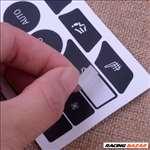 BMW F10 - F11 középkonzol gomb felújító szett