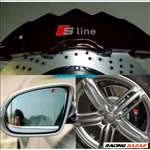 Audi S-line féknyereg matrica