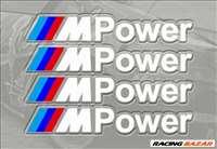 BMW M Power matrica - fehér