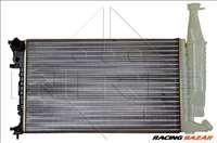 NRF 54677 Hűtőradiátor