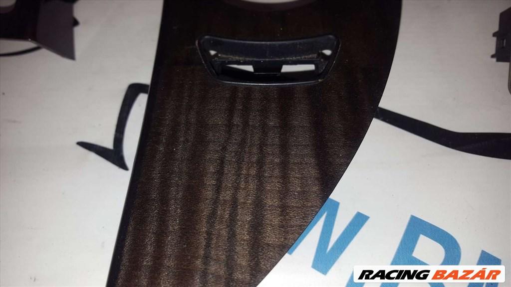 BMW E60-E61 fekete fabetét  5. nagy kép