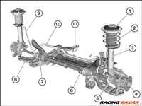 BMW 2-es sorozat F45/F46 lengéscsillapító