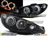 Peugeot PEUGEOT 206 2002- ANGEL EYES BLACK Tuning-Tec fényszóró