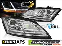 Audi AUDI TT 10-14 8J CHROME LED SEQ HID AFS DRL Tuning-Tec fényszóró