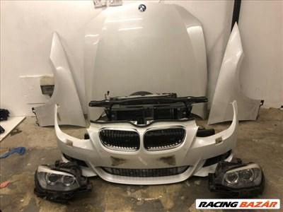 BMW 3-as sorozat E92, E93 Bmw Facelift komplett eleje motorháztető sárvédő lámpa lökhárító