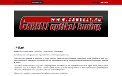 Carelli optikai tuning