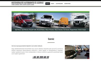 Kisteherautó Autóbontó és Szerviz
