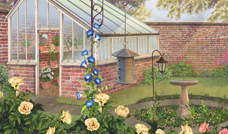 FREE Jacquie Lawson English Garden