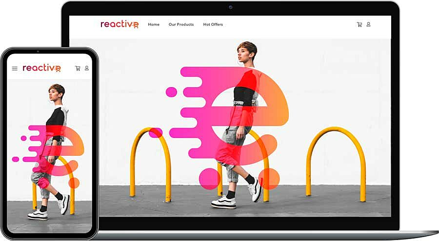 Reactive Shop