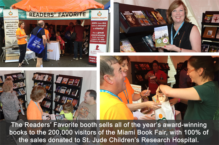 Miami Book Fair International, Readers' Favorite Booth
