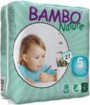 Abena Bambo Nature 5 Ekologiczne Pieluszki Jednorazowe Junior 12-22 Kg 27 Szt