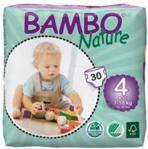 Abena Bambo Nature Ekologiczne Pieluszki Jednorazowe 4 Maxi 7-18 Kg 30 Szt