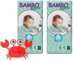 Abena Pieluchy Bambo Nature 5 Junior 12-22Kg 2X54Szt