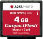 AgfaPhoto CompactFlash 4GB High Speed 120x MLC