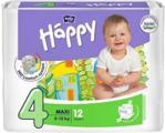 Bella Baby Happy Pieluszki Rozmiar 4 (8-18 Kg) Maxi 12 Szt.