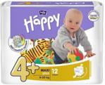 Bella Happy Pieluszki 4+ Maxi+ (9-20 Kg) 12 Szt.