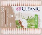 Cleanic Bamboo Patyczki Higieniczne Biodegradowalne 200Szt.