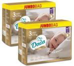 Dada Pieluchy Extra Care Jumbo 3 Midi 4‑9Kg 2X96Szt.