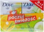 DOVE Mydło 4 x 100 g Go Fresh (2 x Energise + 2 x Fresh Touch)