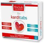 Fin Club Karditabs-Magnez, kwas foliowy, witamina B6 i B12 (60 tabl.)