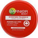 Garnier Body Intensywna Pielęgnacja bardzo suchej skóry Regenerujący krem z syropem z klonu 200ml