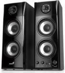 Głośniki Genius 2.0 SP-HF1800A Black Wood (31730908100)