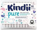 Harper Hygienics Kindii Pure Bawełniane Patyczki Higieniczne Dla Niemowląt 60Szt.