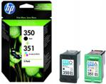 HP 350/351 Czarny + Kolorowy (SD412EE)