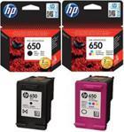 HP 650 (komplet) (CZ101AECZ102AE)