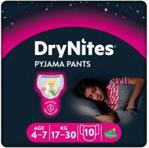 Huggies Pieluchomajtki na noc 4-7 lat DRYNITES Girl (17-30 kg) 10 szt