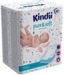 Kindii Pure & Soft Podkłady Dla Niemowląt 10 Sztuk