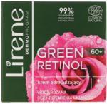 Lirene Odmładzający Krem Do Twarzy Na Dzień 60+ Green Retinol Day Cream 50 ml