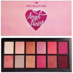 Makeup Revolution I Heart Revolution Angel Heart Eyeshadow Palette Paleta cieni do powiek 9g
