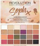 Makeup Revolution Soph X Eyeshadow Palette paleta 24 cieni do powiek 26,6g