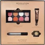 Makeup Revolution Zestaw Prezentowy Glitter Kit