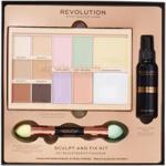Makeup Revolution Zestaw Prezentowy Sculpt & Fix Kit