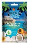 Marion Tropical Island TAHITI PARADISE Nawilżająca maska na tkaninie